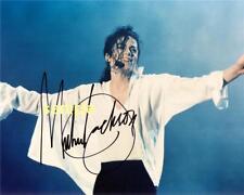 MICHAEL JACKSON #2 REPRINT 8X10 AUTOGRAPHED SIGNED PHOTO MAN CAVE KING OF POP MJ