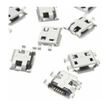 2X CONNETTORE MICRO USB femmina 5 poli MC3 pcb smd connector mini jack F pin pc