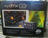 American DJ myDMX Go Wireless Lighting App Control System Package
