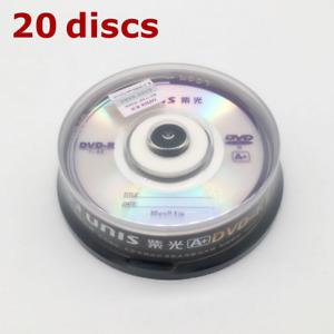Mini DVD-R 4x 8cm 1.4 GB Blank DVD Recordable 1.4GB UNIS A+ - 20 Pieces