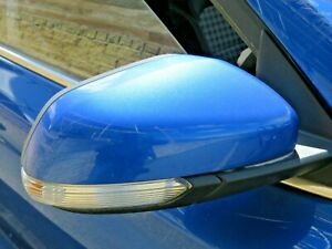 MG ZS MK2 SUV 2017-2020 O/S/F DRIVER SIDE FRONT RIGHT COMPLETE WING MIRROR BLUE