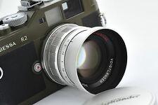 Voigtlander 50mm f1.5 nokton Asférica, Leica Ltm/Adaptador Tornillo de montaje, M