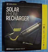 New Goal Zero/0 Nomad 7 v2 Solar Panel & Switch 10 Li-ion Multi Tool Kit 21013 ☦