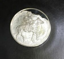 Sealed Genius Of Rembrandt Sterling Silver Proof Medal The Polish Rider