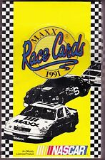 1991 MAXX Race Cards - NASCAR -  Factory Sealed Box