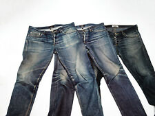 Butler APC Holly Grail Jeans Fades Faded Distressed Selvedge Dry Denim Size 30