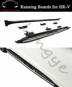 2PCS Running Boards Side Step Nerf Bars fits for Honda HRV HR-V 2016-2020