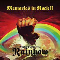 RITCHIE BLACKMORE'S RAINBOW - MEMORIES IN ROCK II (BLACK VINYL) 3 VINYL LP NEU