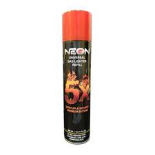 1x Can NEON 5x PURIFIED BUTANE GAS TORCH REFILL 300ml ULTRA REFINED(L136)