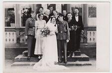 (F1031+) Orig. Foto Wehrmacht-Soldat, Hochzeit, 1940er