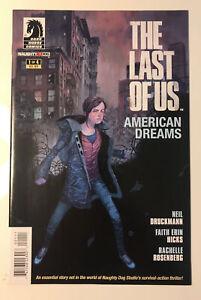 The Last of Us: American Dreams #1, (1st Print), 2013, F/VF