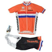 Bio Racer rabobank pro 3 m camiseta pantalones set Jersey bibshort knwu Olympic Team