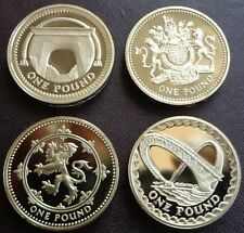 More details for 1983 - 2021 elizabeth ii £1 one pound coin proof  - choose your year