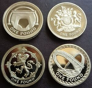 1983 - 2021 Elizabeth II £1 One Pound Coin Proof  - Choose Your Year