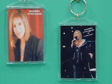 Barbra Streisand - with 2 Photos - Designer Collectible Gift Keychain