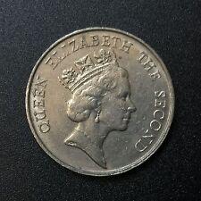 1988 Hong Kong 5 Dollar Coin
