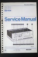PHILIPS Recorders N2538 Original Service-Anleitung/Manual/Schaltplan! o55