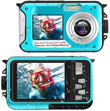 Waterproof Digital Camera Underwater Camera Full HD 2.7K 48 MP Video Recorder