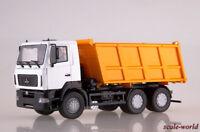 Scale model 1/43 MAZ 6501 dump truck (restyling)