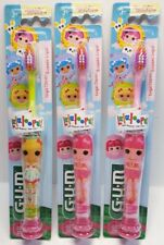 G-U-M Lalaloopsy Manual Toothbrush (Pack of Three)