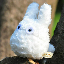 My Neighbor Totoro 11cm White Totoro Plush Toy Soft Bean Filled Stuffed Doll
