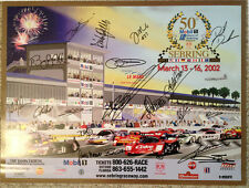 Sebring 12 Hours 50th Anniversary Event Poster  Autographed