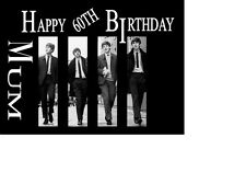 PERSONALISED  Beatles A5 Birthday card ANY NAME AGE GREETINGS