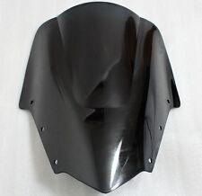 Black Racing Windshield Windscreen For Yamaha FZ1 Fazer FZ1S FZS1000S 2006-2011