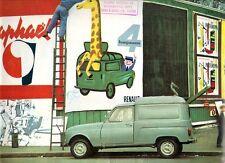 Renault 4 Fourgonette Van 1963-64 UK Market Sales Brochure