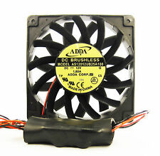 120mm 25mm New Fan 12V 175CFM Ball Brg Water Resistant Voltage Regulator 337*