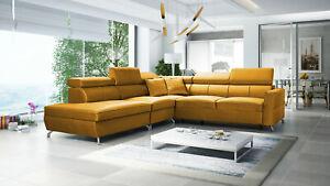 Brand new corner sofa bed with storage Veneto VIII