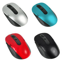 2.4GHz Wireless Cordless Optical Scroll Computer PC Laptop Mouse With USB Dongle