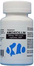 Fish Antibiotics 250 mg. 100 count Capsules USP #031