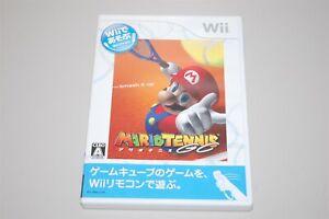 Mario Tennis GC (Wii de Asobu) Japan Nintendo Wii game NTSC-J