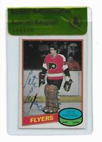 FLYERS PETE PEETERS signed autographed 1980-81 OPC ROOKIE CARD RC BECKETT (BAS)