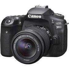 Canon 90D Digital SLR Camera with 18-55 is STM Lens (International Model)