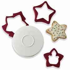 Tupperware Christmas Cookie Cutters Holiday With Case Baking New and Sealed