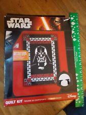 Star Wars Quilt Kit Darth Vader Cotton Disney Quilting Craft Gift Sewing Pattern