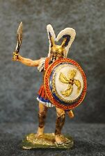 Tin Soldiers * Hand painted * Greek hoplite, 5th century BC * 60 mm * 1/30