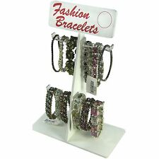 Retail Bracelet Anklet Key Chain Jewelry Display Rack Stand - Various Uses!