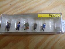 TT = 1:120 Preiser 75046 bahnhofsmission. figurines. emballage d'origine