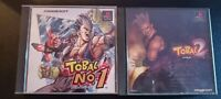 Tobal No. 1 & 2  Japanese Import Sony Playstation Retro Square Soft Ps1