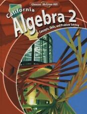 California Algebra 2: Concepts, Skills, and Problem Solving Holliday, Berchie