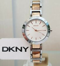 DKNY Ladies Watch Rose Gold Tone Stainless Steel Genuine RRP £169 (563)