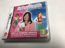 * Nintendo DS GAME * ACTIVE HEALTH WITH CAROL VODERMAN *
