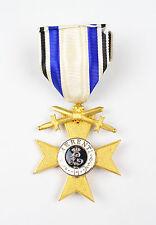 Bayern Militärverdienstkreuz 1.Klasse mit Schwertern Jacob Leser 1917