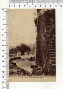 "13182) France 1924 PC "" Nice - La Cascade Du Chateau """