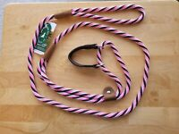 Mendota Martingale Slip Lead Dog Leash Collar <50lbs 3/8' x 6' Made in USA