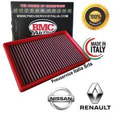 Filtro Aria sportivo BMC FB432/01 Made in Italy per NISSAN E RENAULT lavabile