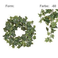 Englischer Efeukranz Kunstpflanze Ø 25 cm gefrostet Türkranz Tischdeko künstlich